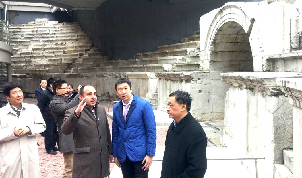 Chinese delegacy of the National touristic administration visited Plovdiv