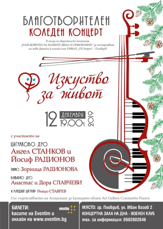 Две предстоящи благотворителни събития в Пловдив с обща благородна кауза