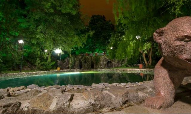 Цар Симеоновата градина и Пеещите фонтани