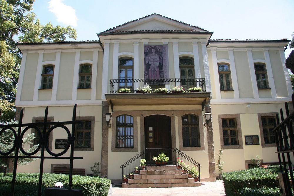 "Къща д-р Стоян Чомаков - Експозиция ""Златю Бояджиев"""